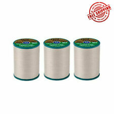 Coats & Clark Dual Duty Plus Hand Quilting Eyebrow Thread 228m (pack of 3) White