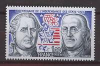 FRANCIA/FRANCE 1976 MNH SC.1480 American Bicentenial
