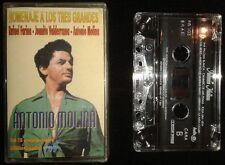 MOLINA, FARINA, VALDERRAMA - Homenaje A Los 3 Grandes - 3 x SPAIN CASSETTE 1996