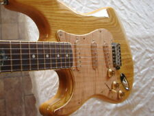 Left Handed Raven West Electric Guitar Strat Style STUNNING ASH Lefty