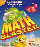 MATH BLASTER IN SEARCH OF SPOT +1Clk Windows 10 8 7 Vista XP Install