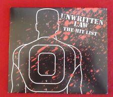 Unwritten Law : Hit List CD (2007)