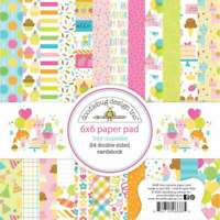 "Doodlebug Double-Sided Paper Pad 6""X6"" 24/Pkg Hey Cupcake 842715066885"