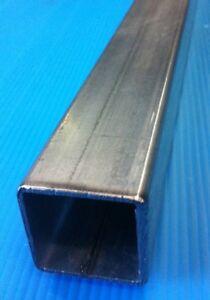 Tube carré acier galvanisé 60x60 épaisseur 2mm longueur 3 M