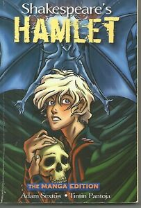 Shakespeare's Hamlet Manga Ed by Adam Sexton & Tintin Pantoa (Softcover, 2008)