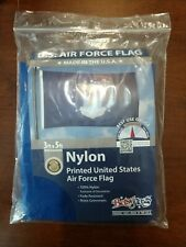Us Air Force Seal Official Military 3x5 ft Flag Outdoor Nylon Made Usa