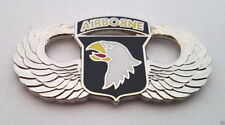 101ST AIRBORNE DIVISION WINGS LARGE Military Veteran US ARMY Hat Pin 16039 HO LP