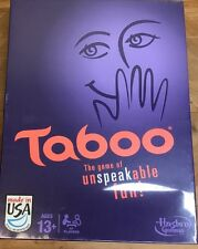 TABOO THE GAME OF UNSPEAKABLE FUN! HASBRO 2013 EDITION BRAND NEW AND SEALED!