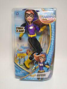 "Mattel DC Super Hero Girls Batgirl 12"" Poseable Action Figure Free Standing NIB"