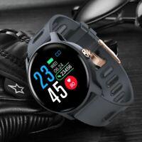 Men Sport Pedometer Smart Watch IP68 Waterproof Fitness Tracker Heart Rate Monit