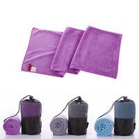 Fitness Workout Travel Exercise Yoga Mat Cover Towel Blanket Non-Slip Pilates