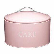Kitchen Craft - Jumbo Keksdose Rosa Ø 28cm (KCCAKETIN) Dose für Muffins Cupcakes
