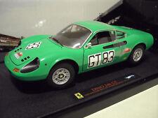 Ferrari Dino 246 GT 71 Nürburgring 1/18 Elite Hot Wheels T6260 Voiture Miniature