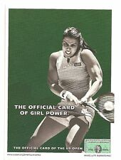 2002 Jennifer Capriati American Express Postcard