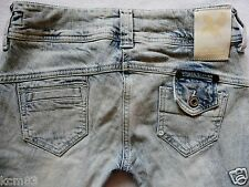 River Island Ladies Jeans Size 6 R super SKINNY leg ACID snow  supreme  26/32