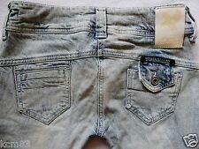 River Island Ladies Jeans Size 6 R super SKINNY leg ACID snow  supreme  26/32