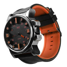 Men's Orange Big Boy Wristwatch
