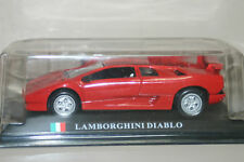 Burago Lamborghini Diablo Extremely rare Collectible chrome Plated Keyring 1:87