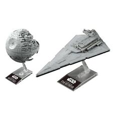 Bandai Star Wars 1/2700000 Death Star II & 1/14500 Star Destroyer Building Kit