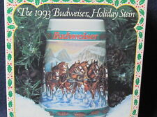 1993 Anheuser-Busch Holiday Stein Collection - Brand New / Never Opened