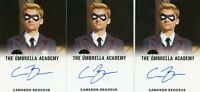 EL The Umbrella Academy season 1 Autograph card Cameron Brodeur as young Luther