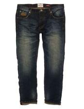 Superdry Indigo, Dark wash 32L Jeans for Men
