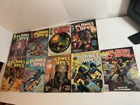 Planet of the Apes Oversized Comic Lot Curtis Lot # 10,11,12,13,14,15,17,18,20
