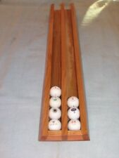 New Sassafras 38 golf ball display case hand made (great gift for dad)
