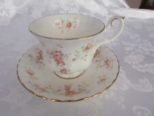 Royal Albert Peach Rose Duo Made In England- Cup and saucer