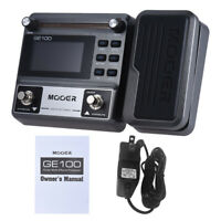 MOOER GE100 Guitar Multi-effects Processor Effect Pedal with Loop Recording Z4H5