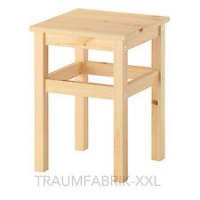 Ikea Casa de Campo Taburete Madera Holzschemel 33x33x45 Cm Sólido Pino