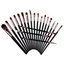 20x Beauty Makeup Brushes Eyeshadow Powder Eyeliner Lip Brush Set Tools