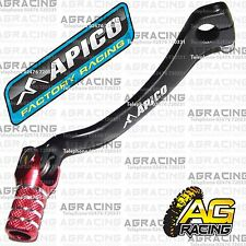 Apico Black Red Gear Pedal Lever Shifter For Honda CRF 450R 2006 Motocross MX