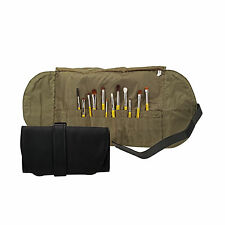 Bdellium Travel Line 16 Pocket Roll Up Pouch for Beauty Brushes + 4 Side Pockets