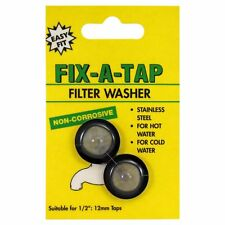 "Fix-A-Tap Stainless Steel Filter Washer for 13mm (½"") taps - Australian Brand"