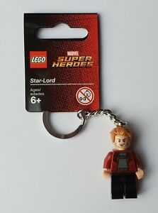 LEGO Star-Lord Keychain/Keyring - Marvel/DC Superheroes 853707 (Retired)