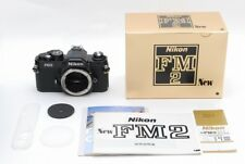 [UNUSED!] Nikon New FM2 FM2N Black SLR Camera s/n: 770xxxx From JAPAN #153