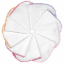 Molton Baby Waschlappen Spucktücher Baumwolltücher 9er Pack 30x30 cm - Rosa Pink