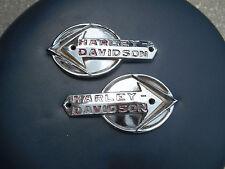 OEM Harley Gas Tank Emblems 59-60 Panhead Models