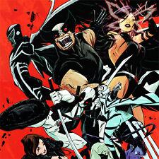 X-Force Signed Art Print Sanford Greene Wolverine Deadpool Psylocke X-23