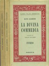LA DIVINA COMMEDIA. 3 VOLUMI  ALIGHIERI DANTE PARAVIA 1960