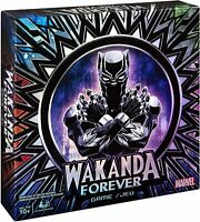 Marvel Wakanda Forever Black Panther Dice Rolling Family Board Game - NEW