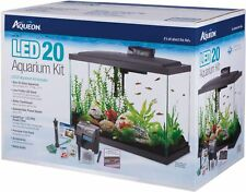 Aqueon LED Aquarium Kit Black 20 Gallon