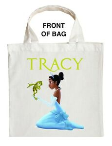Princess Tiana Trick or Treat Bag - Personalized Princess and the Frog Halloween