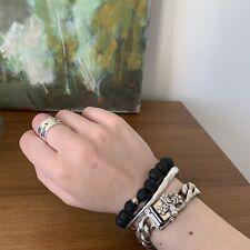 Silver Versani Cuban Link Bracelet
