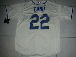 ROBINSON CANO SEATTLE MARINERS MAJESTIC SIZE LARGE THROWBACK JERSEY
