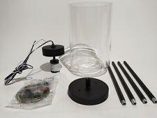 Home Decorators Black Mini Pendant Hanging Light Fixture Clear Glass 1003520762