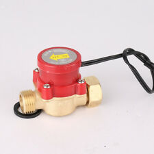 "Automatic 1/2"" to 1/2""  Water Flow Switch for Pump 220V 90W-150W Flow Sensor"