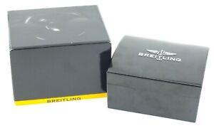 Authentic Breitling Black Bakelite Watch Presentation Box