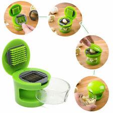 2x Pro Garlic Chopper No-touch Peeler Dicer Slicer Cutter kitchen Presser